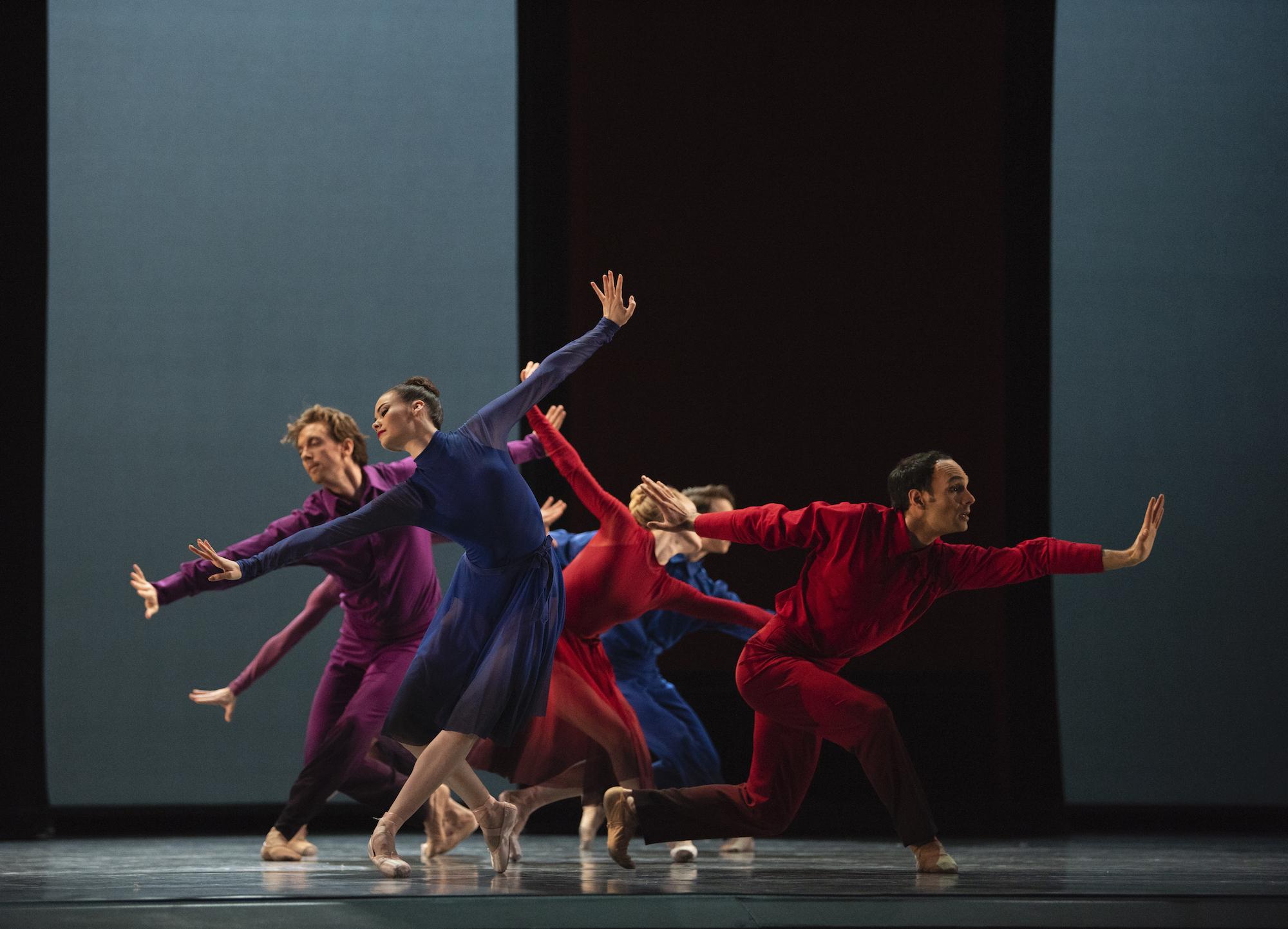 San Francisco Ballet in Millepied's Appassionata. (© Erik Tomasson)