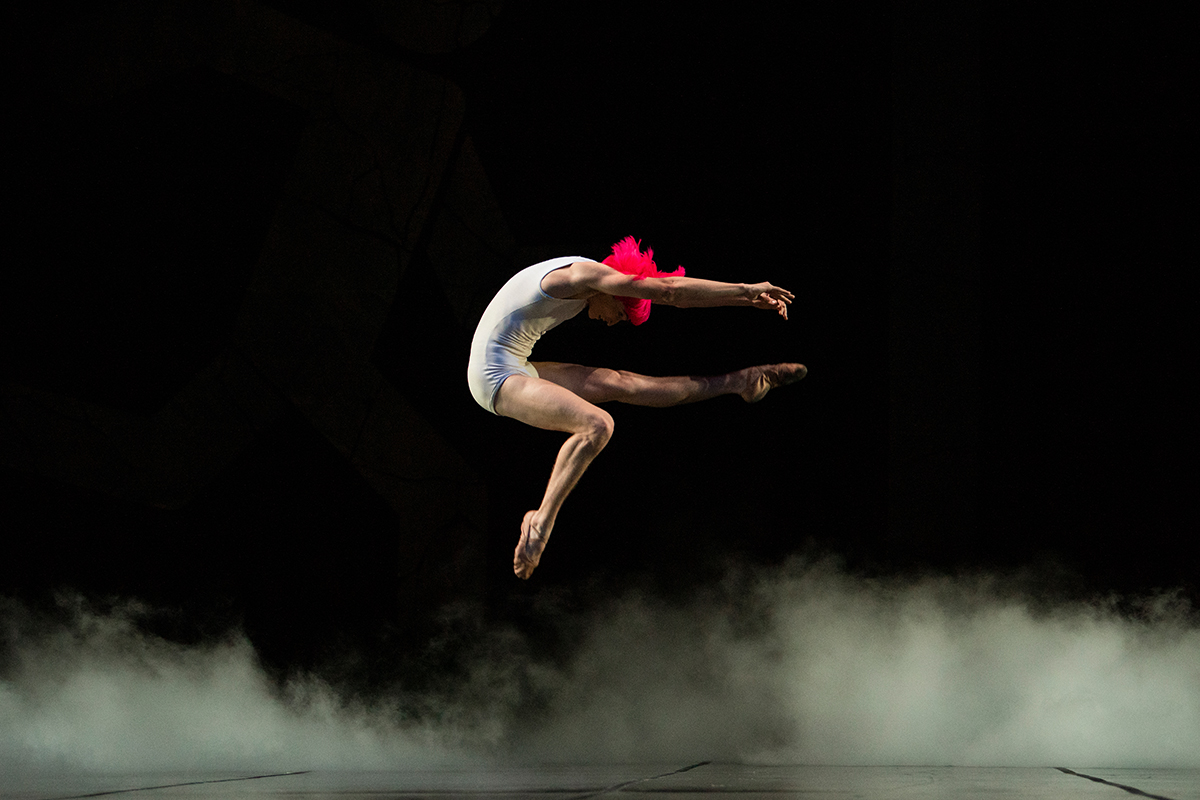 Nathaniel Remez in McIntyre's The Big Hunger // © Erik Tomasson