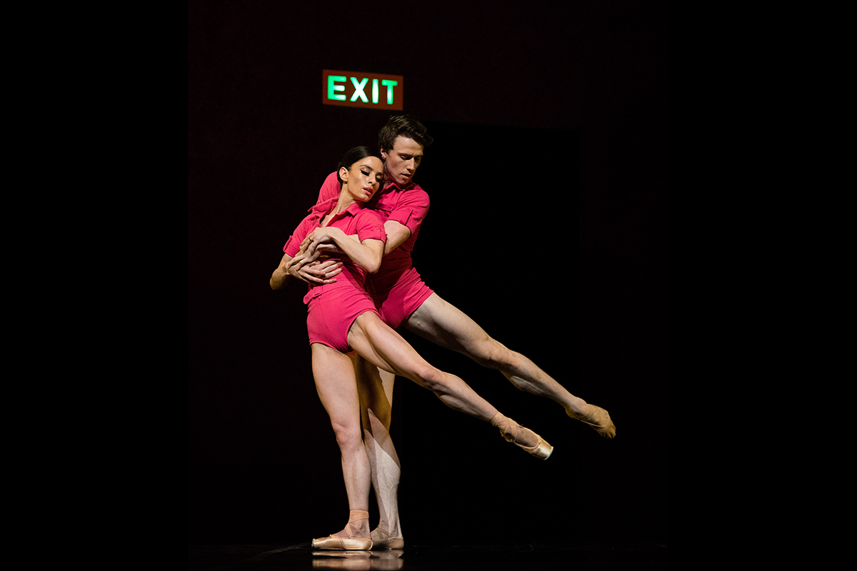 San Francisco Ballet in McIntyre's The Big Hunger // © Erik Tomasson
