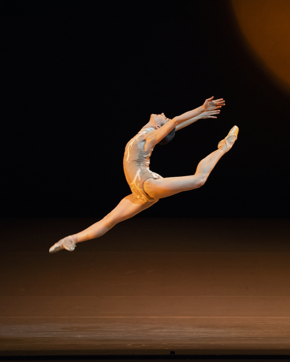 Julia Rowe in Liang's The Infinite Ocean // © Erik Tomasson
