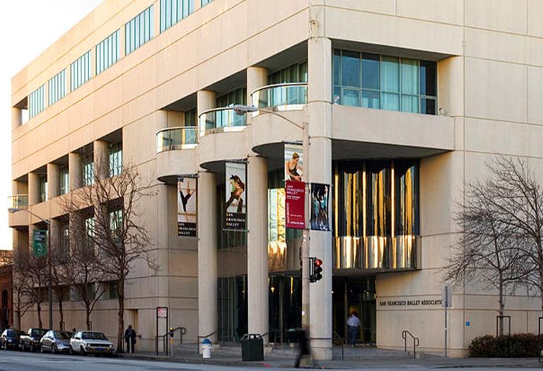 San Francisco Ballet Association building.