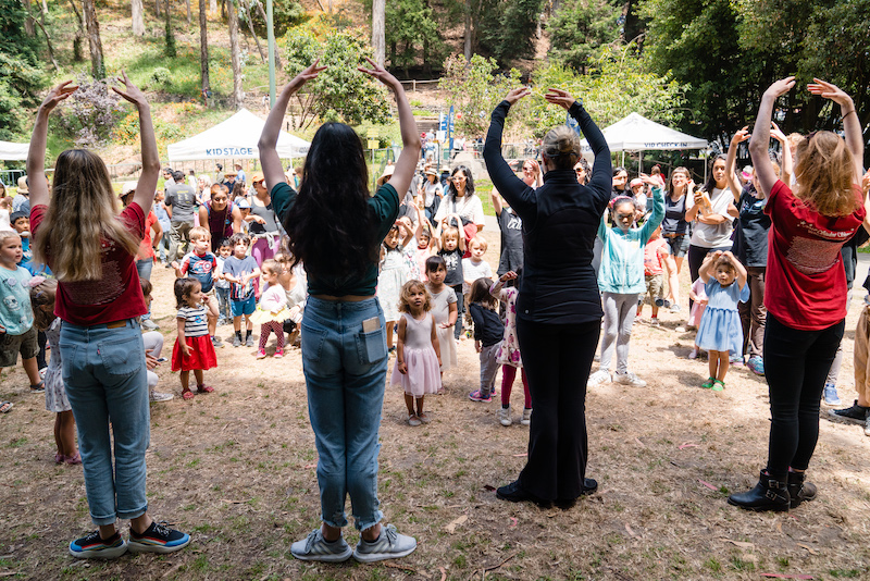 San Francisco Ballet at the Stern Grove Festival. (© Brandon Patoc)
