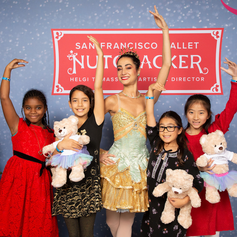SAN FRANCISCO, CA - December 15 - SF Ballet Nutcracker Luncheon 2018 on December 15th 2018 at SF City Hall and War Memorial Opera House in San Francisco, CA (Photo - Arthur Kobin for Drew Altizer Photography)