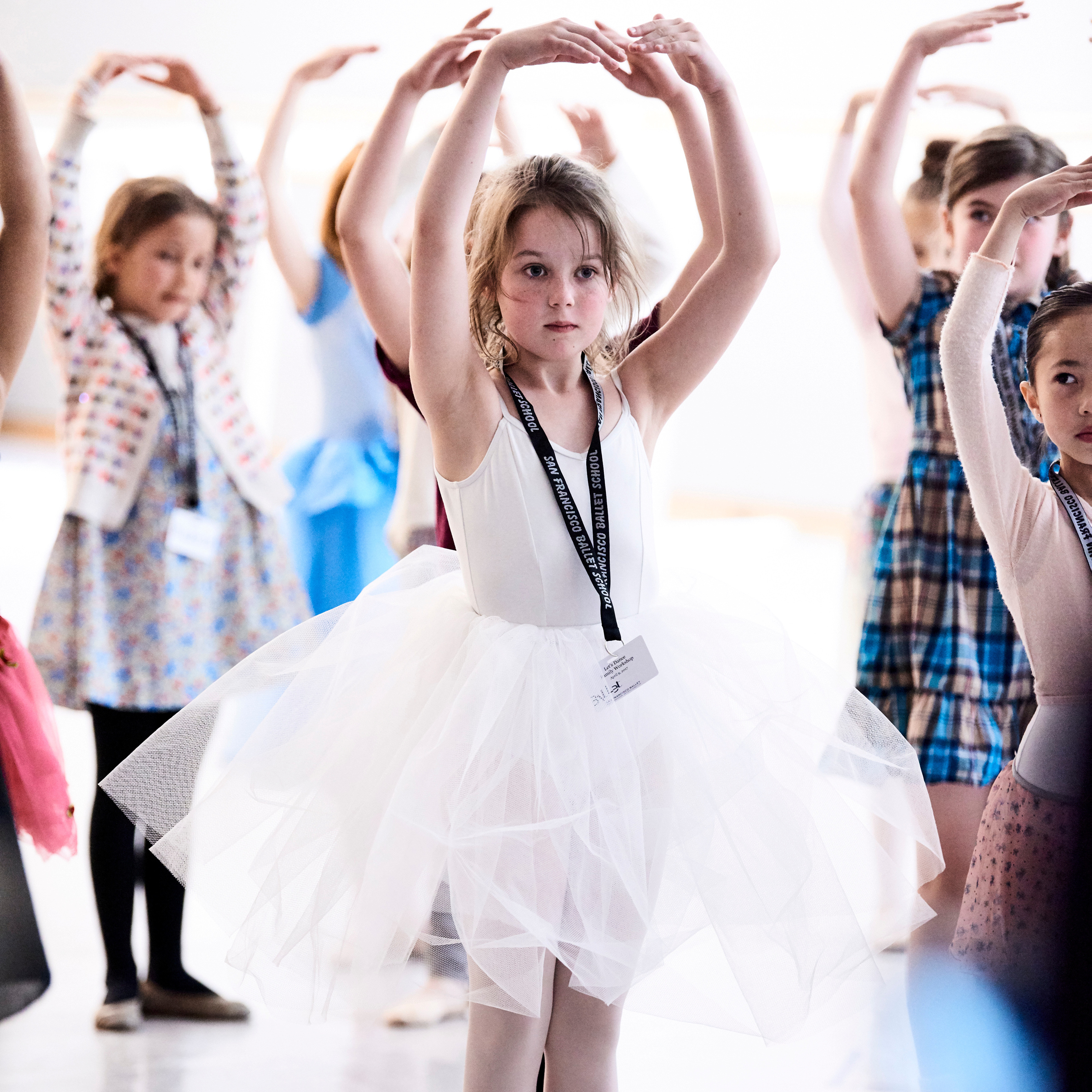 SF Ballet's Let's Dance Family Workshop. (© Erik Tomasson)