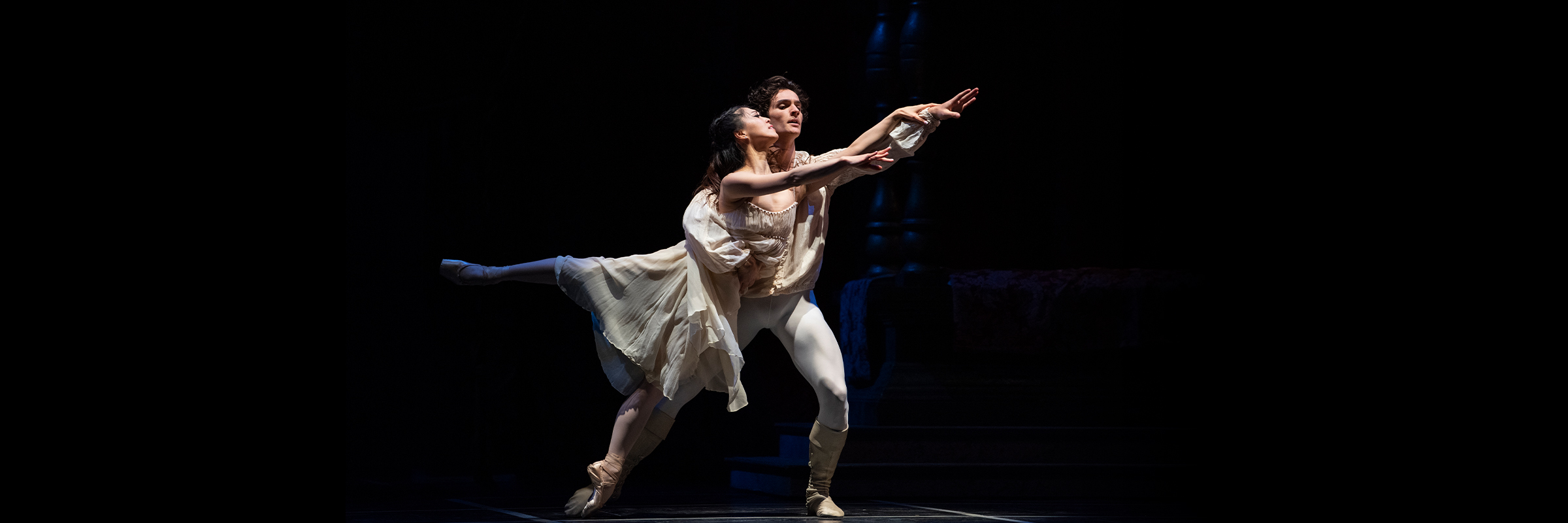 Misa Kuranaga and Angelo Greco in Tomasson's Romeo & Juliet // © Erik Tomasson
