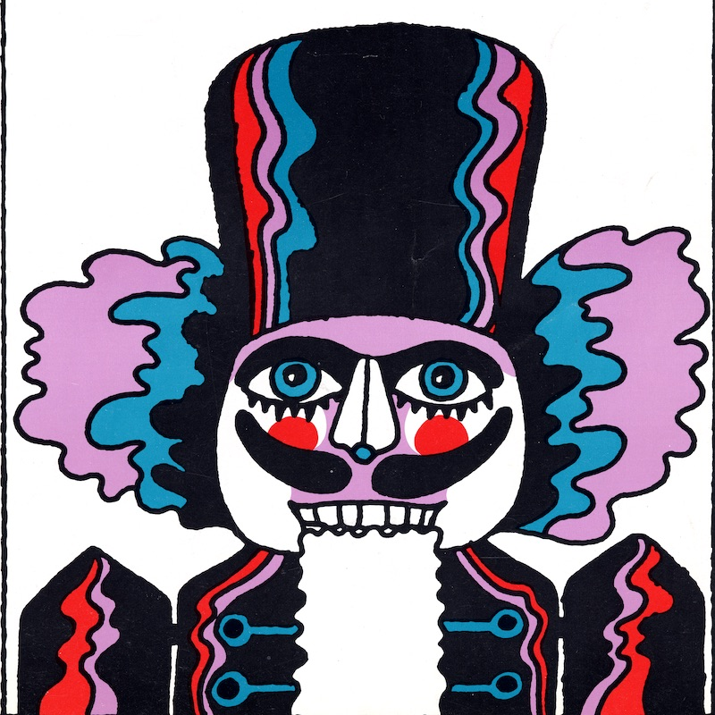 Nutcracker Souvenir Program cover, 1967