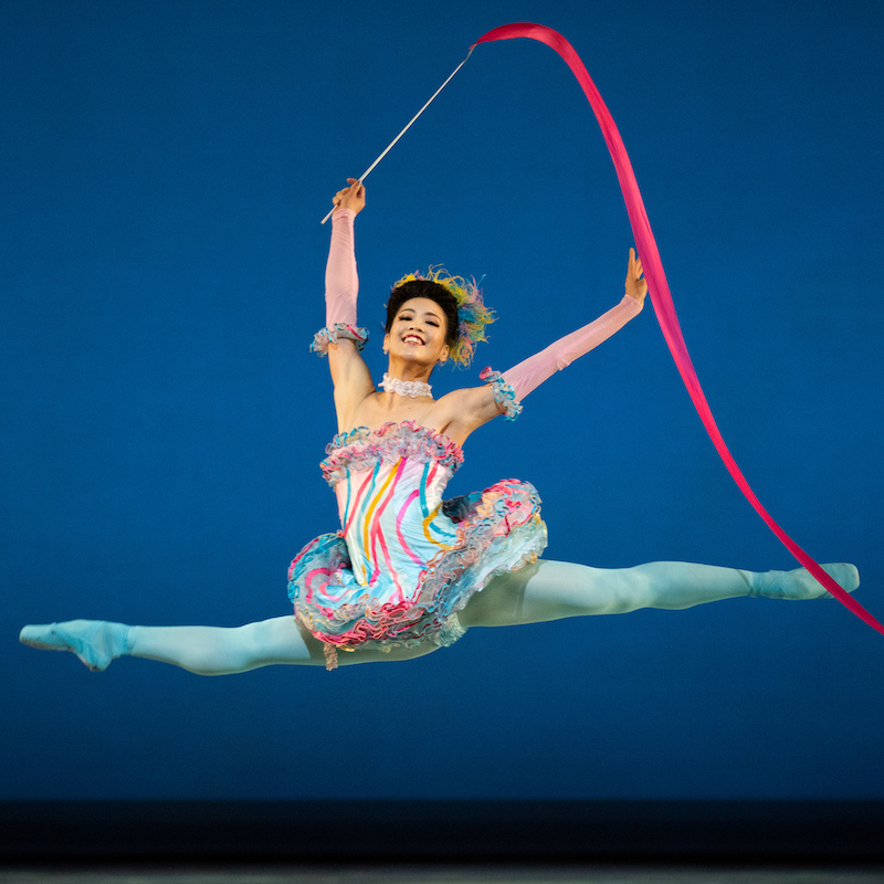 Ami Yuki in Tomasson's Nutcracker. (© Erik Tomasson)
