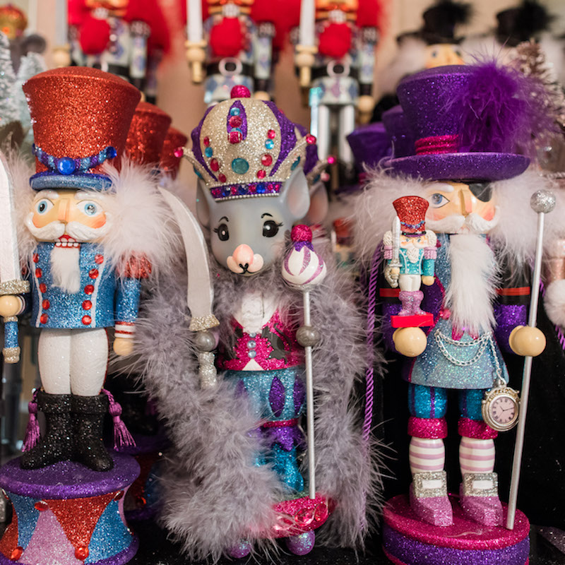 Nutcrackers at San Francisco Ballet's Shop (© Gary Sexton)