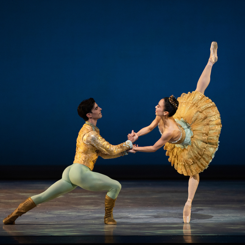 Frances Chung and Joseph Walsh in Tomasson's Nutcracker // © Erik Tomasson