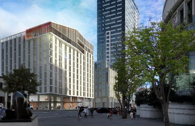 SAN FRANCISCO BALLET SCHOOL PARTNERS WITH THE SAN FRANCISCO CONSERVATORY OF MUSIC, INTRODUCING NEW SF BALLET SCHOOL STUDENT RESIDENCE AT $193 MILLION BOWES CENTER