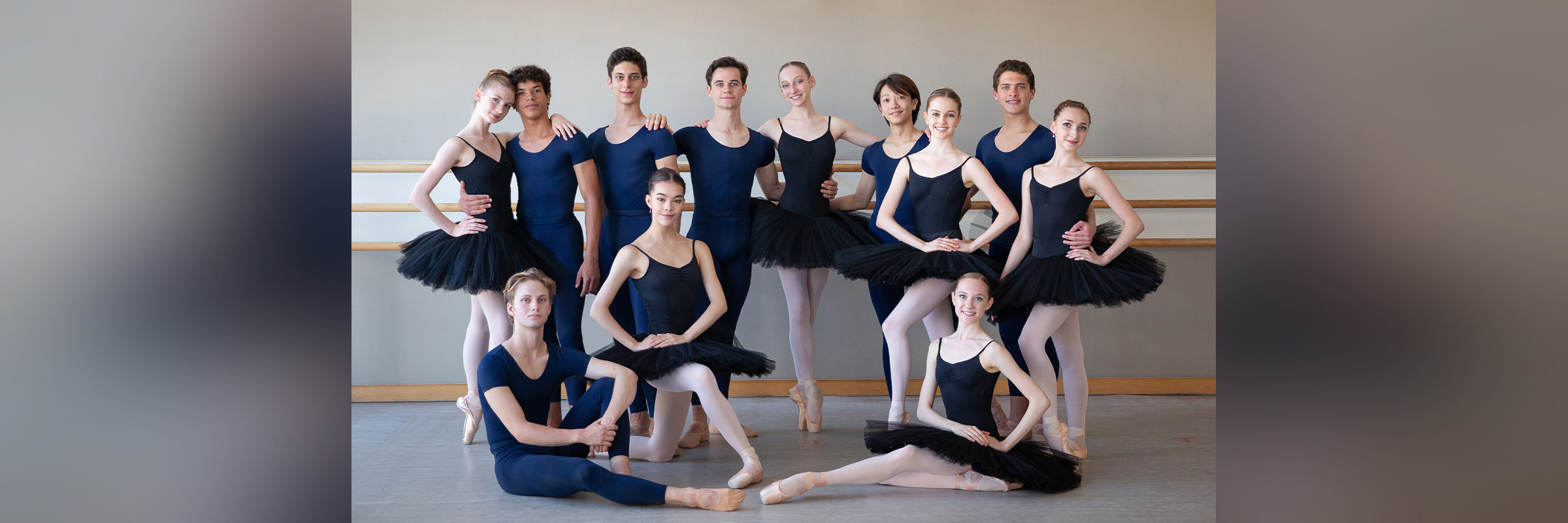 San Francisco Ballet School trainees // © Chris Hardy