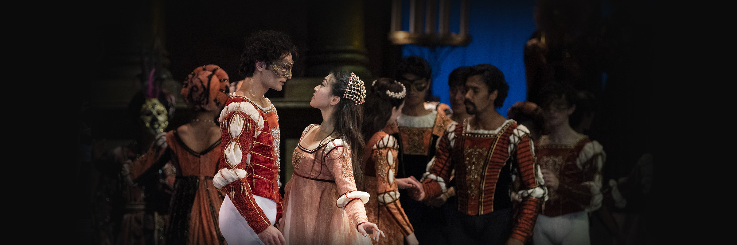 Misa Kuranaga and Angelo Greco in Tomasson's Romeo & Juliet