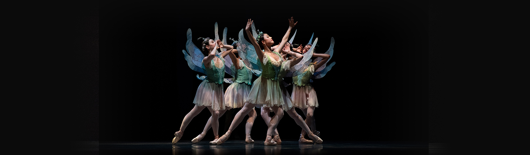 San Francisco Ballet in Balanchine's A Midsummer Night's Dream