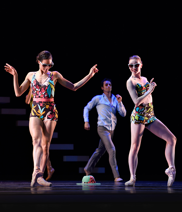 San Francisco Ballet in Possokhov's Swimmer