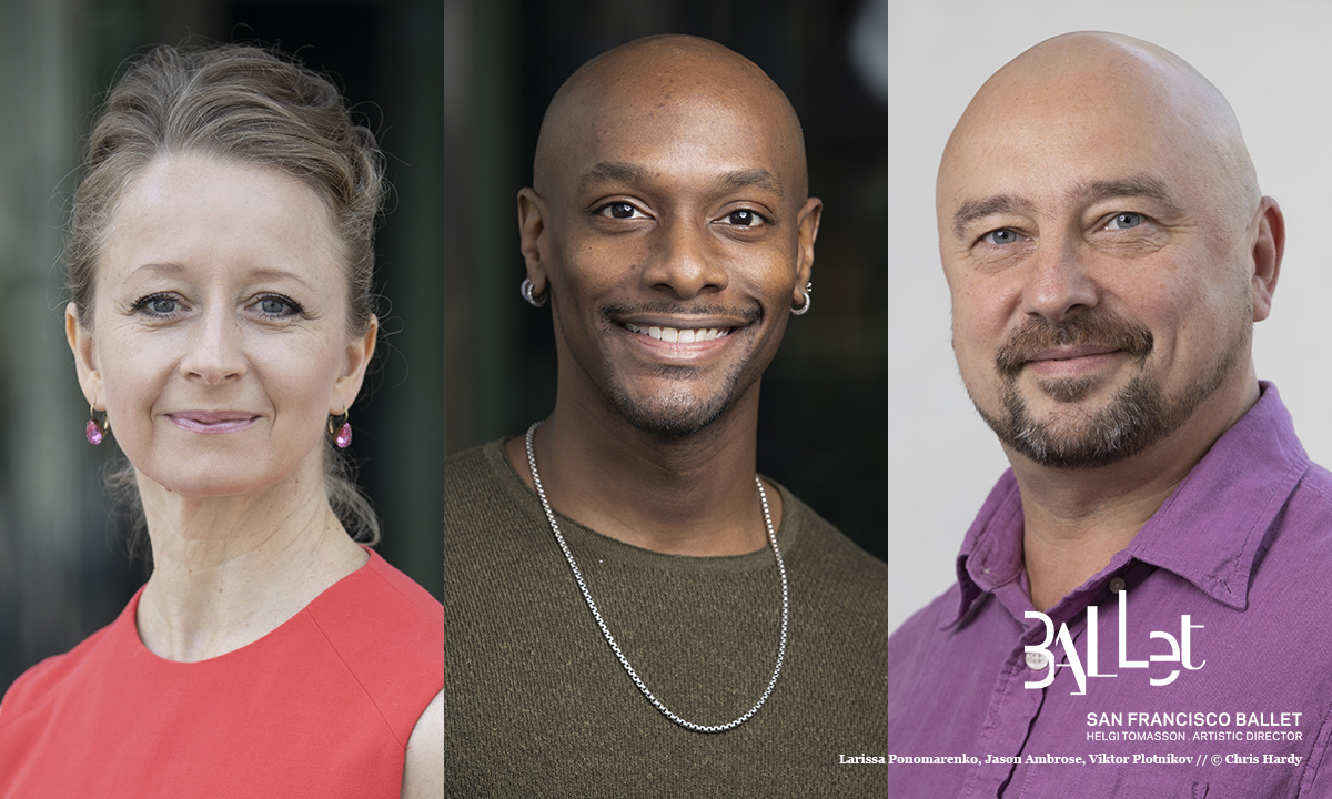 SAN FRANCISCO BALLET SCHOOL ANNOUNCES NEW FACULTY MEMBERS FOR THE 2020-2021 SCHOOL YEAR