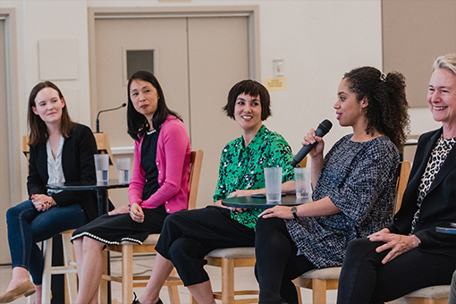 The Clara panel at the Exploring Nutcracker seminar // © Brandon Patoc