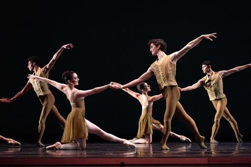 San Francisco Ballet in Tomasson's Caprice // © Erik Tomasson