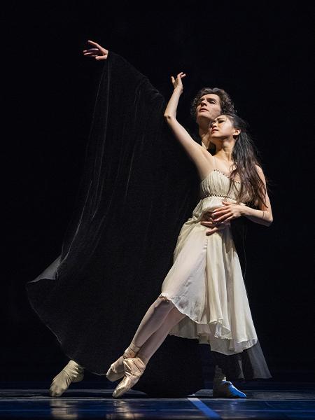 Misa Kuranaga and Angelo Greco in Tomasson's Romeo & Juliet // © Erik Tomasson