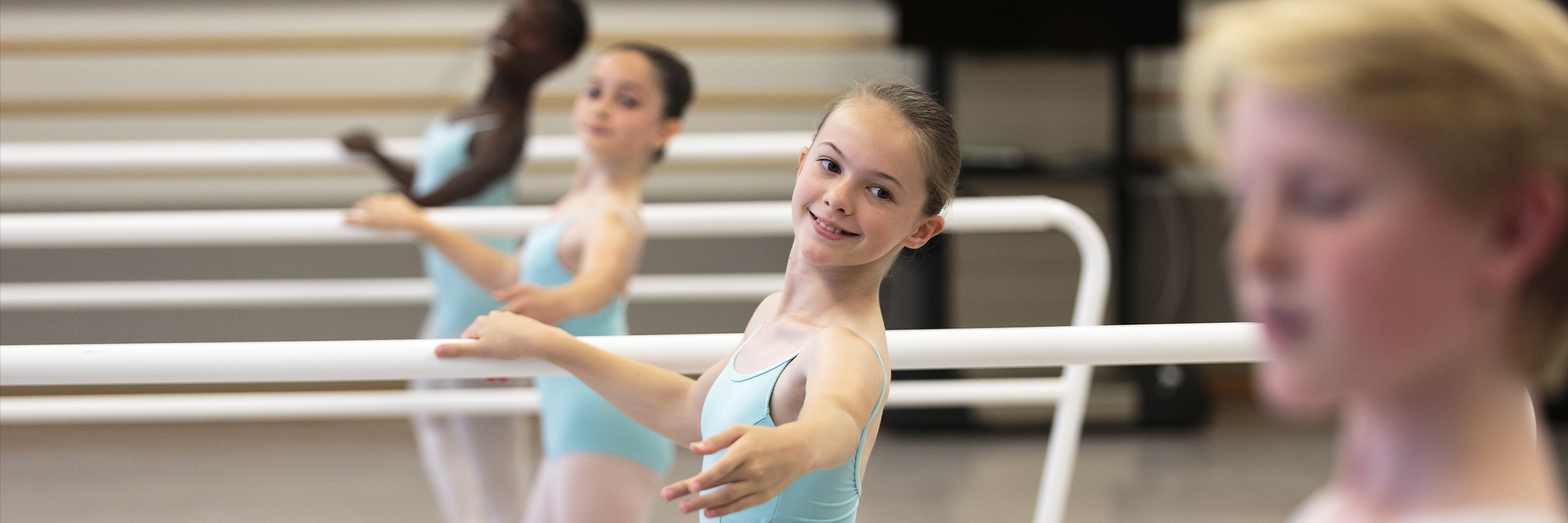 Scenes from San Francisco Ballet School's 2015 Summer Session. (© Chris Hardy)