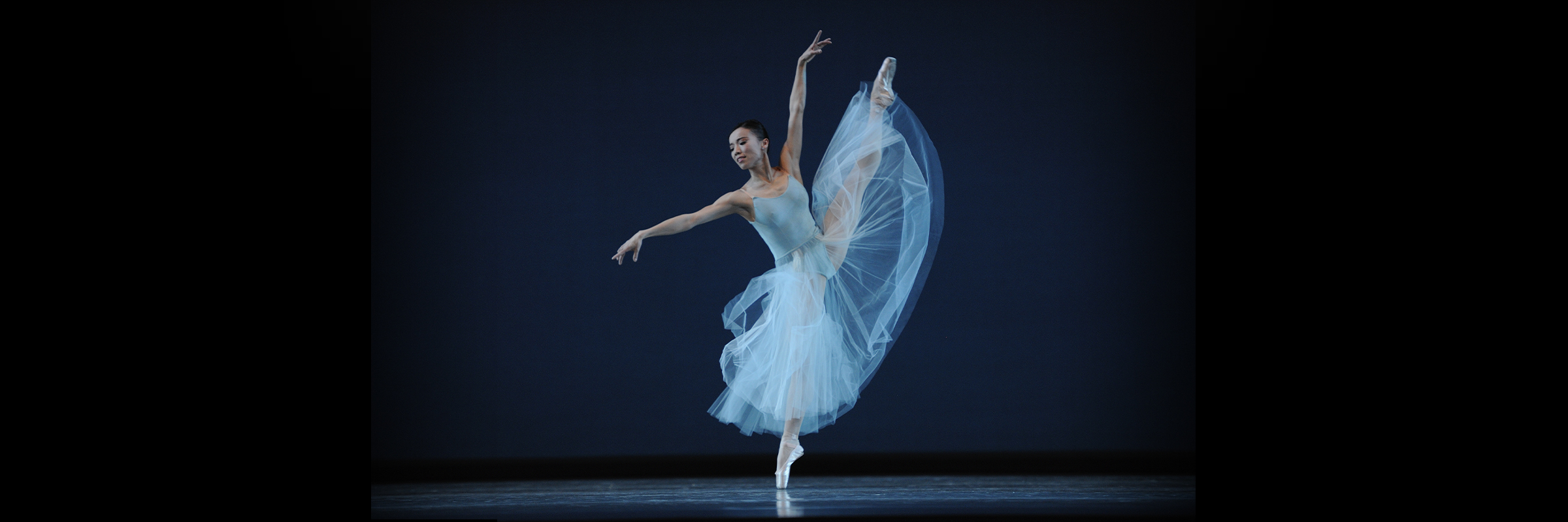 Frances Chung in Balanchine's Serenade // Choreography by George Balanchine © The Balanchine Trust; Photo © Erik Tomasson