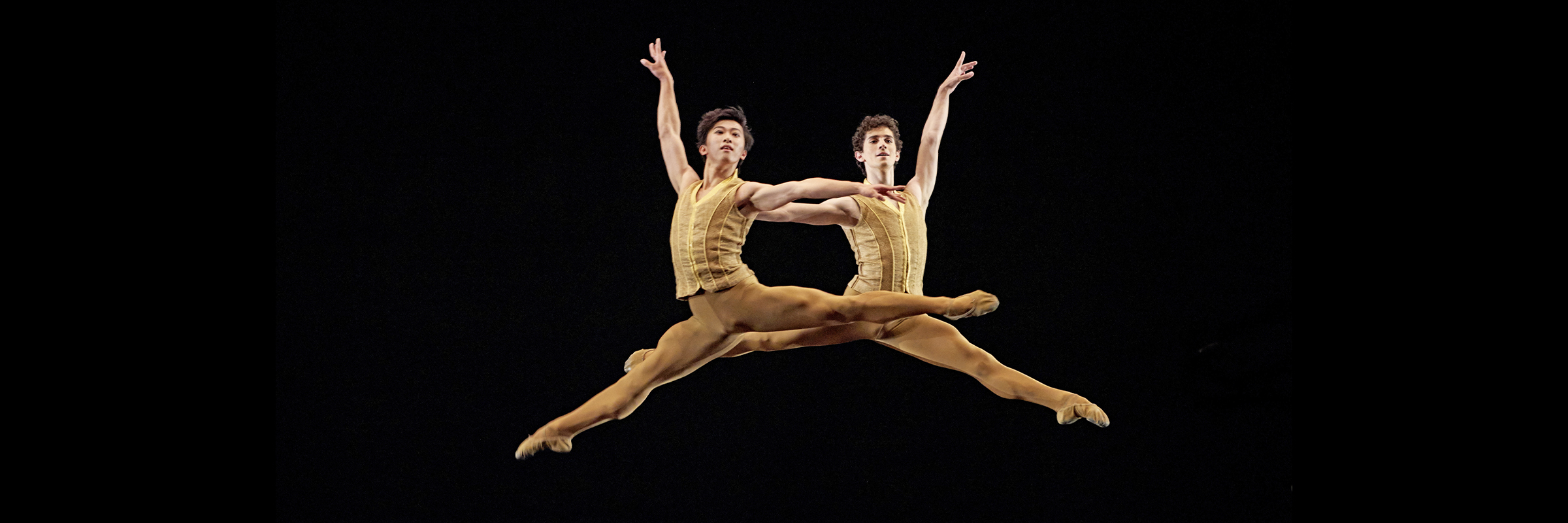Wei Wang and Max Cauthorn in Tomasson's Caprice // © Erik Tomasson