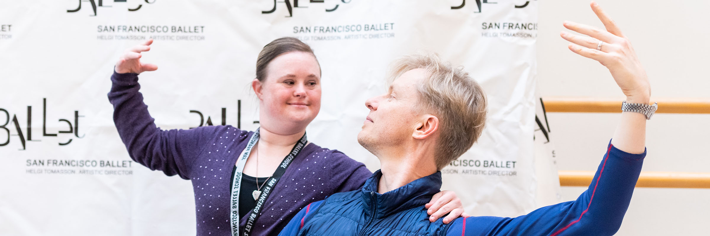 SF Ballet's Sensory Friendly Family Workshop. (© Alex Akamine)
