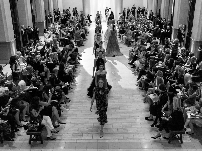 SAN FRANCISCO, CA - March 20 - Models attends San Francisco Ballet Auxiliary Fashion Show 2019 on March 20th 2019 at Bently Reserve in San Francisco, CA (Photo - Arthur Kobin for Drew Altizer Photography)