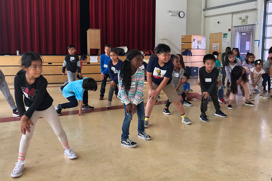 Boys & Girls Clubs of San Francisco and SF Ballet Classes. (© San Francisco Ballet)