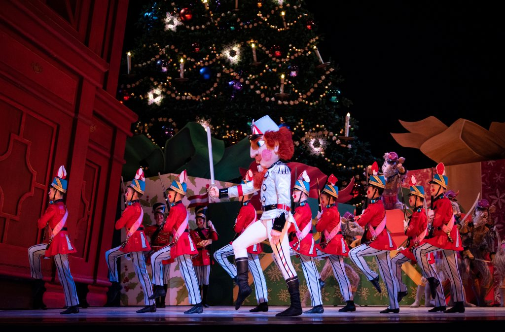 San Francisco Ballet School students as infantry in Tomasson's Nutcracker // © Erik Tomasson