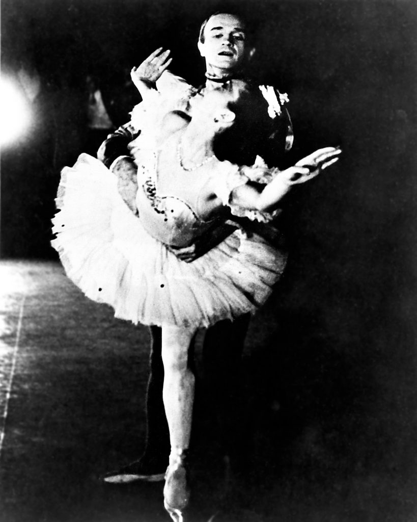 Gisella Caccialanza and William Christensen in the first American full-length production of Nutcracker in 1944 // © William Christensen