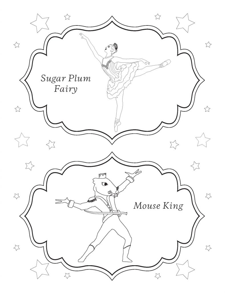 San Francisco Ballet Nutcracker Coloring Page