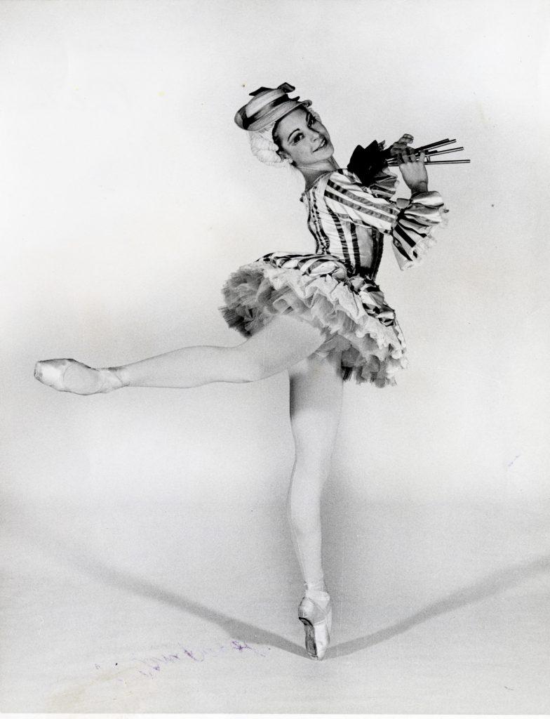 "Damara Bennett as a Mirliton in Lew Christensen's ""Nutcracker"" (© Henri McDowell. Courtesy of the Museum of Performance + Design)"